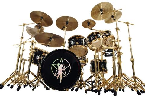 dw neil peart r30 drum kit review musicradar. Black Bedroom Furniture Sets. Home Design Ideas