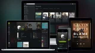Swedish startup Spotify launched in 2008