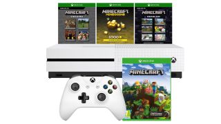 Sweet Christmas! An Xbox One S with Minecraft for £179