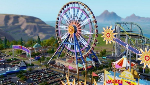 SimCity getting Amusement Park DLC, according to an early store listing