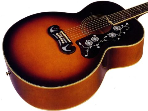 Taking its cues from of the most famous acoustic guitars on the planet