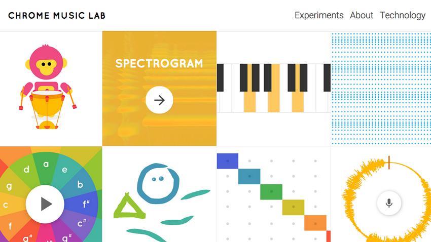 google chrome music lab