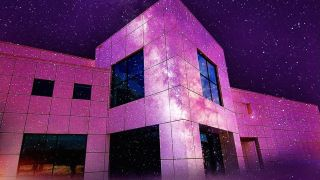 Prince's Paisley Park complex, now open to the public.