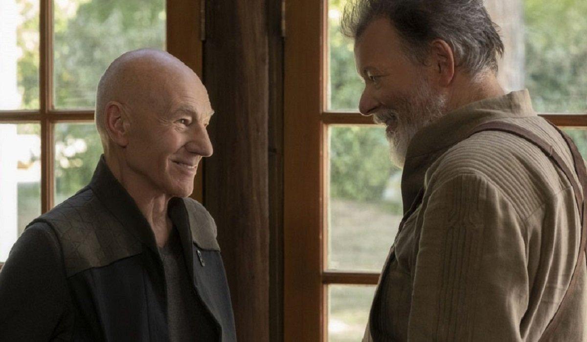 Star Trek Picard Picard And Riker