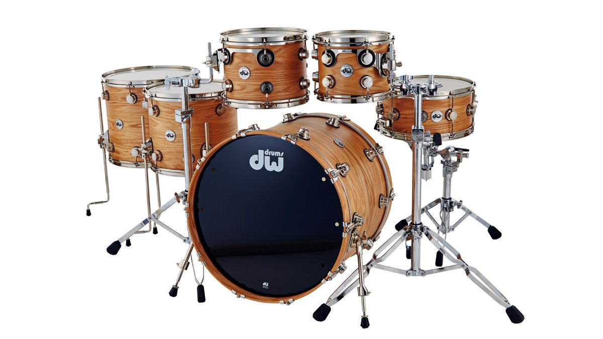 Dw Collector S Pure Oak Drum Kit Review Musicradar