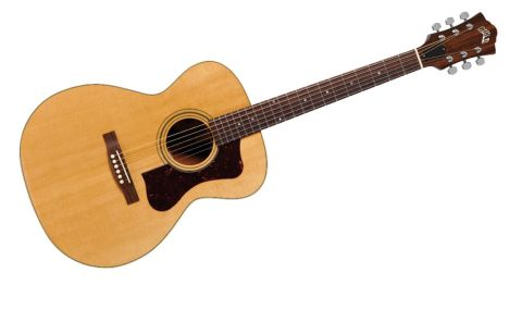 The F-30 is Guild's take on the curvier, thinner, orchestra-style instrument beloved of all manner of folkies