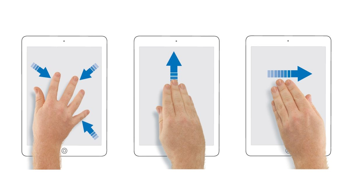 How to use gestures on your new iPad or iPhone