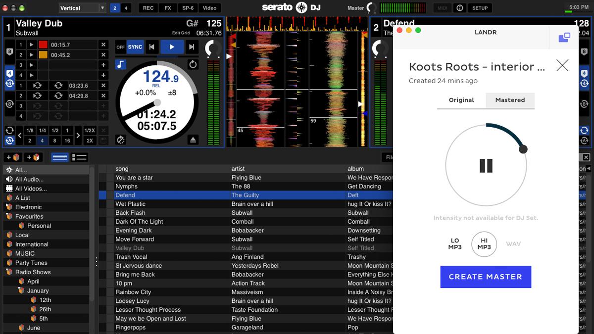LANDR announces a new auto mastering engine for DJs