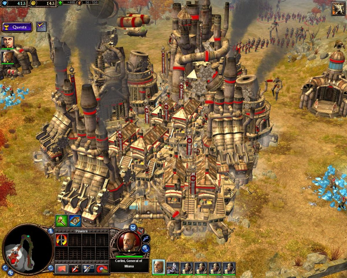 Rise Of Nations Rise Of Legends Review Gamesradar