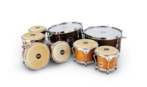 Bongos (front) are of 'Radial Ply Construction' using plywood shells of poplar