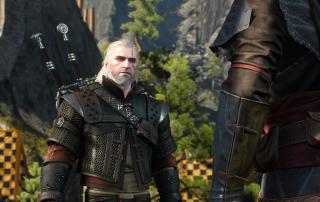 Witcher 3 Geralt Wolf Caro 4