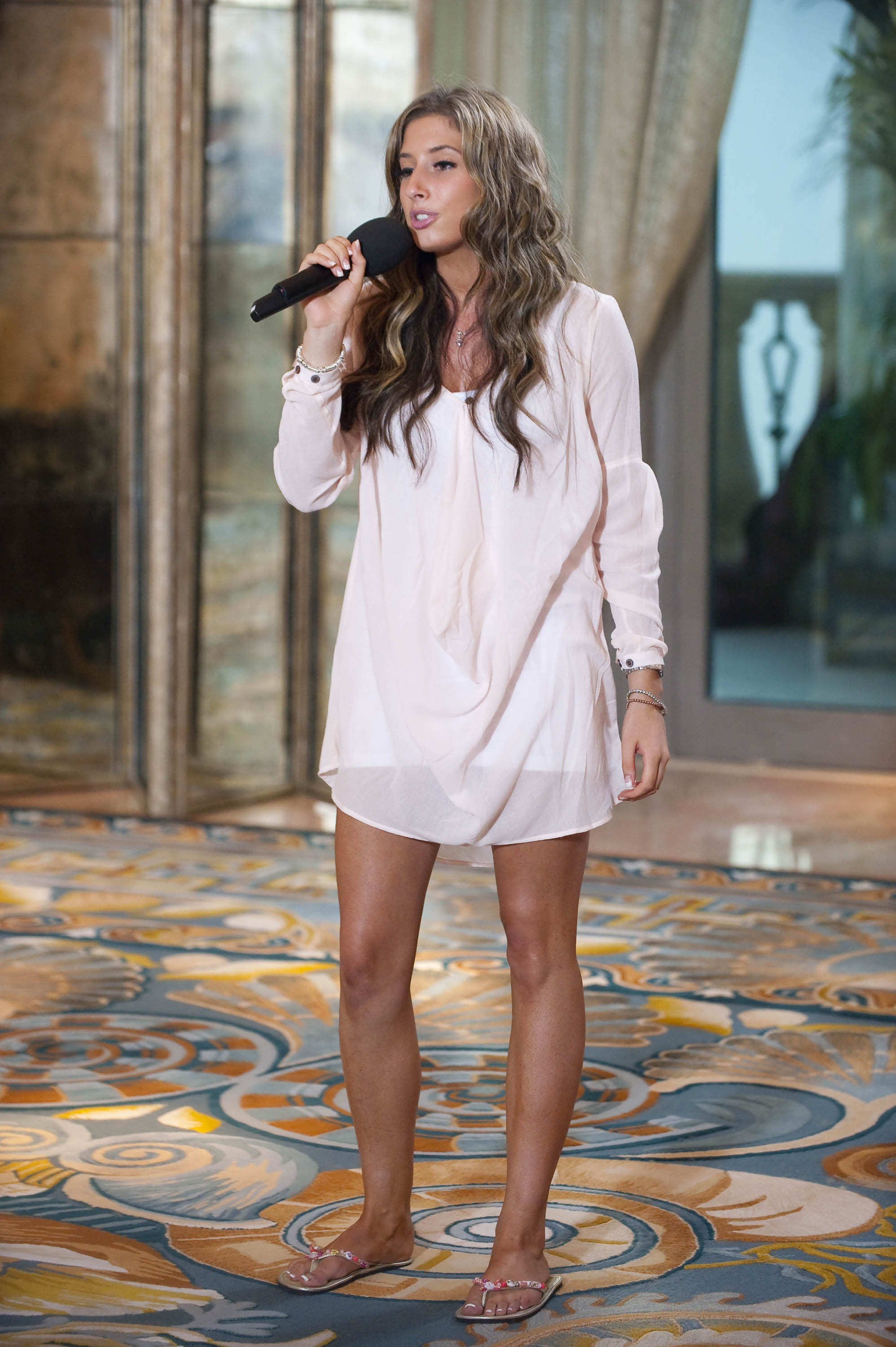 X Factor Judges 2009 Stacey Solomon is 'the...