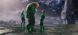 """A still from the science fiction/comic book film """"Green Lantern."""""""
