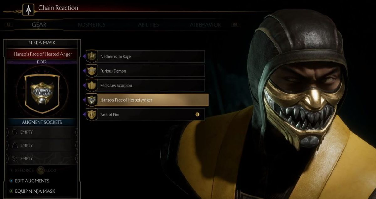 Mortal Kombat 11 Goes Deep On Character Customization Pc Gamer