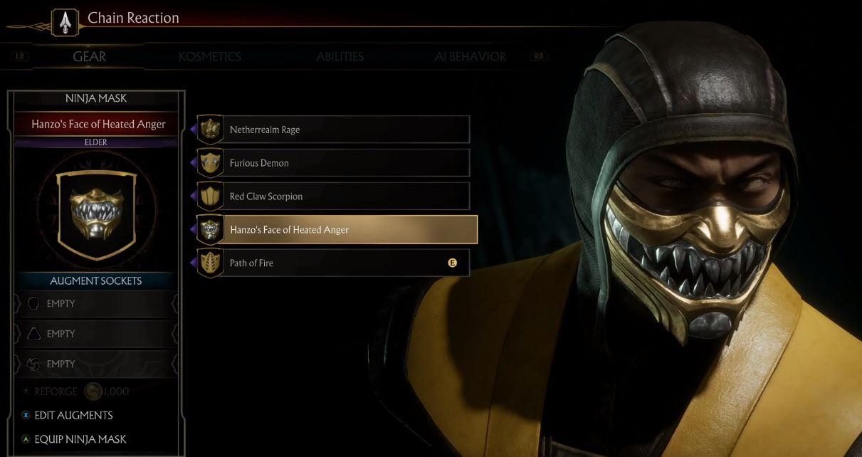 Mortal Kombat 11 goes deep on character customization | PC Gamer