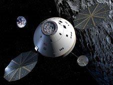 NASA shows off Orion replica
