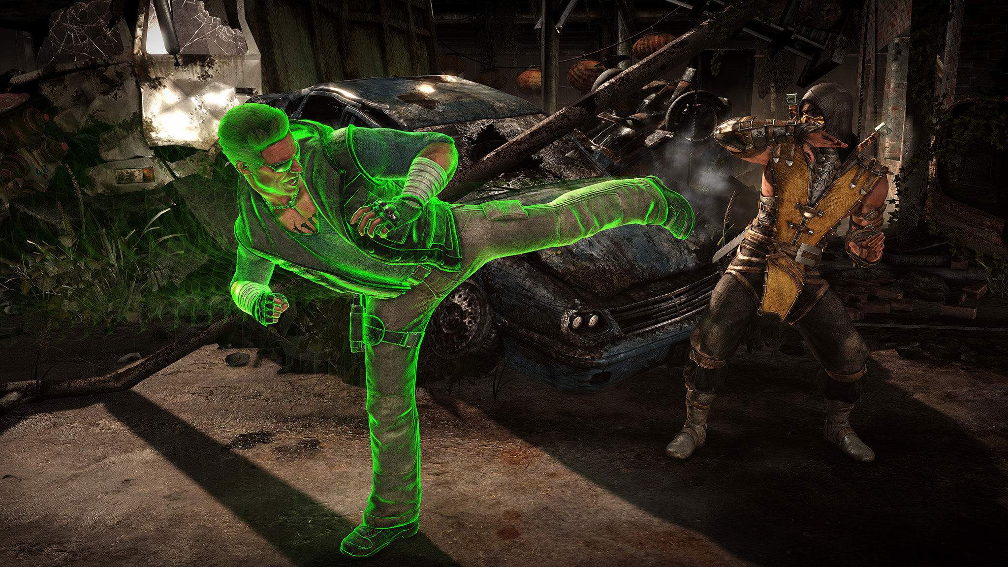 Mortal Kombat X Johnny Cage And Sonya Blade Trailer Sneaks In A Third Character Reveal #32632