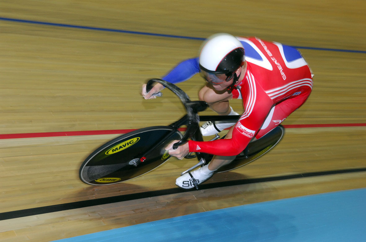 Chris Hoy in team sprint