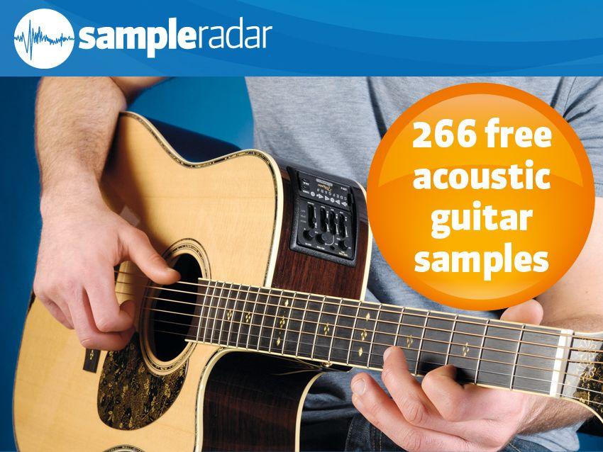 SampleRadar: 266 free acoustic guitar samples | MusicRadar