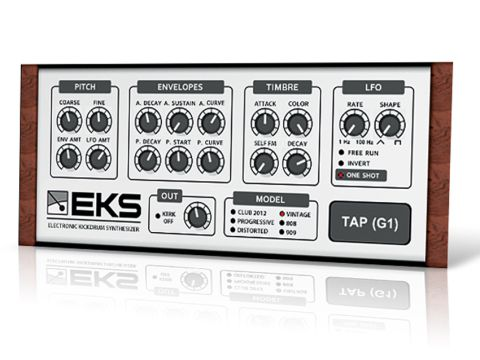 EKS Pro's user-friendly GUI makes creating kicks quick and easy.