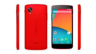 The Red Nexus 5 is real and available now from Google Play Store