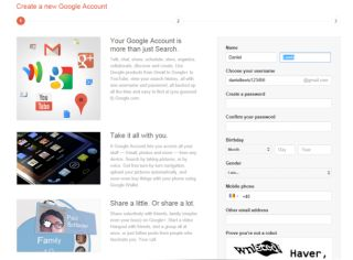 New Google Accounts now require Google sign up