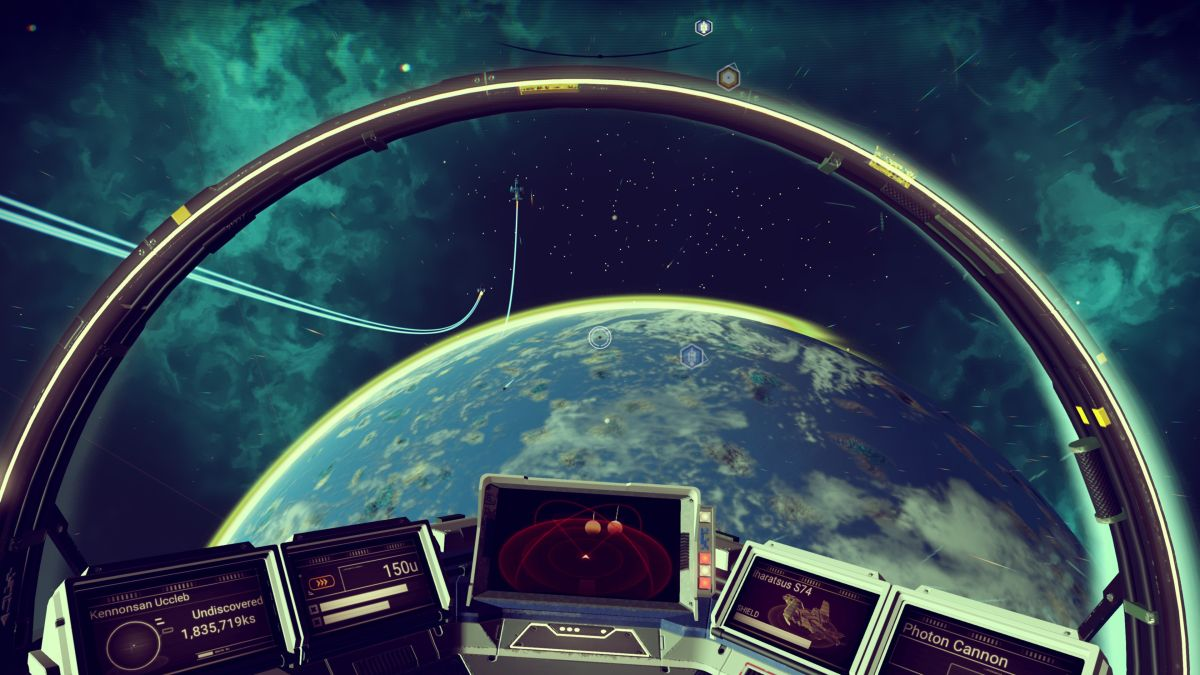 Buying A Car With No Title >> Watch No Man's Sky running in VR | TechRadar
