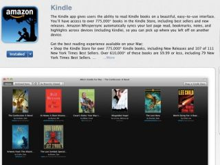 Kindle, now on the Mac App Store