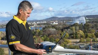 Optus 4G testing in Canberra