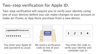 Apple two-step verification uncovers dicey password reset