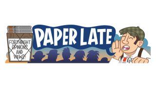 a paperlate illustration