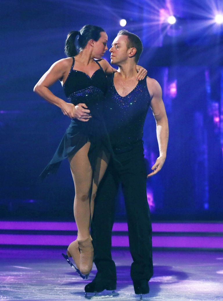 Beth Tweddle Dancing on Ice Bolero photo