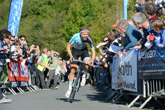 Jack Pullar, winner, Monsal Hill-Climb 2013