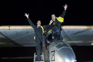 Solar Impulse Lands in New York City