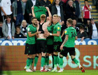 Swansea City v Stoke City – Sky Bet Championship – Swansea.com Stadium