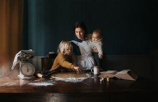 Photographer: Laura Wood. Title: Gingerbreads (self-portrait)