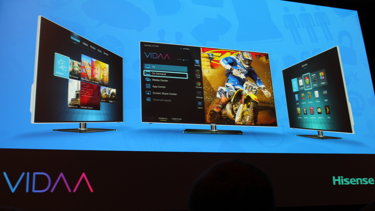 HiSense announces Android-powered Vidaa smart TV platform | TechRadar