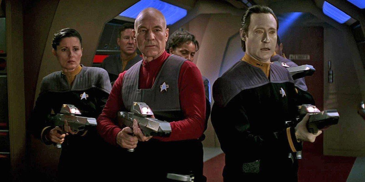 Patrick Stewart, Brent Spiner - Star Trek: First Contact