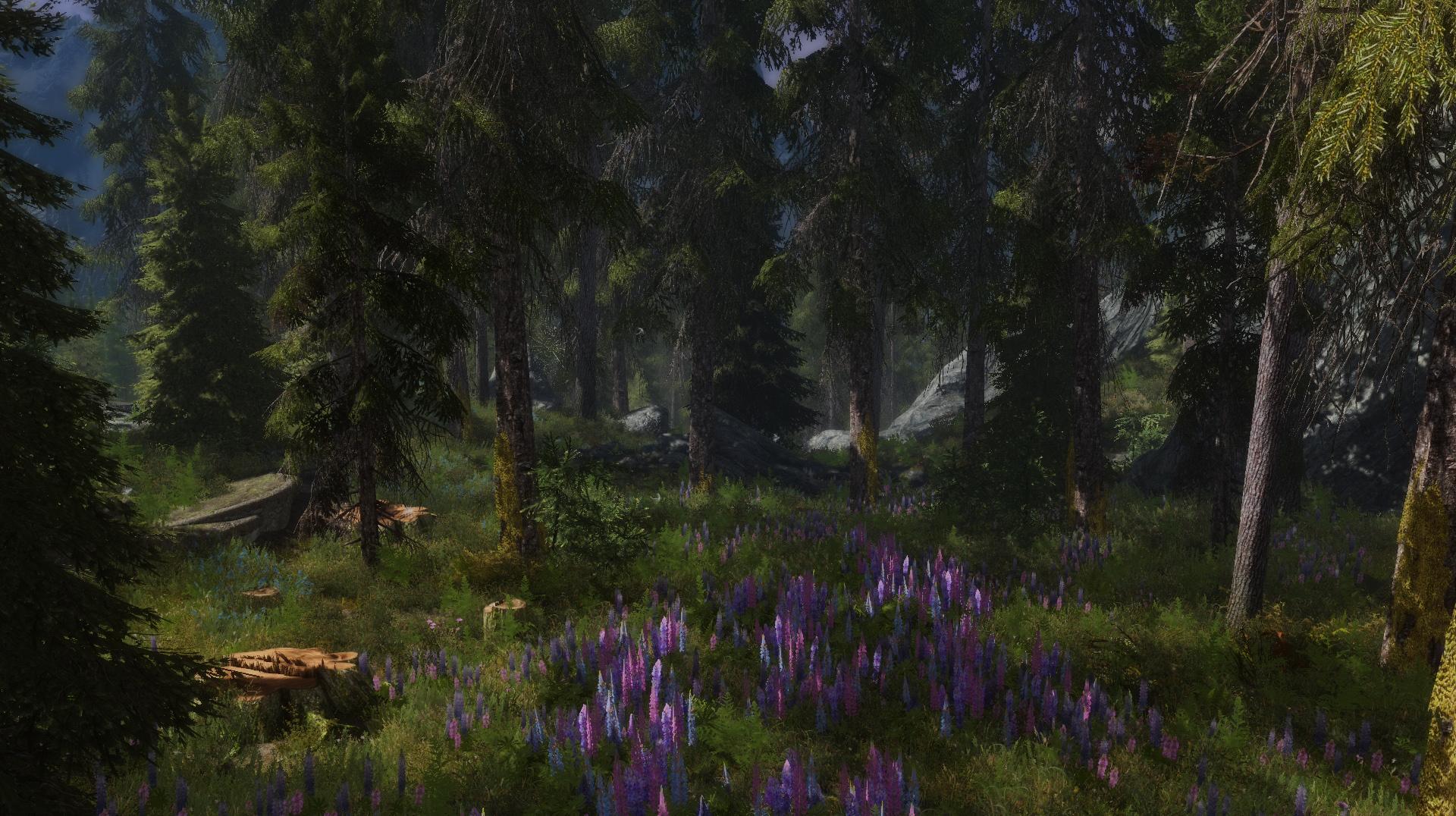 the best skyrim mods: skyrim flora overhaul