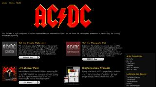 AC/DC joins iTunes