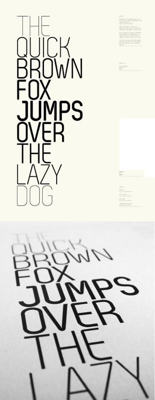 Font of the day: Zag | Creative Bloq