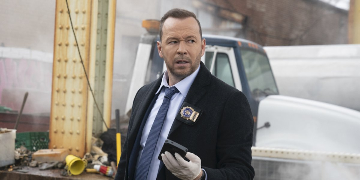 Donnie Wahlberg on Blue Bloods
