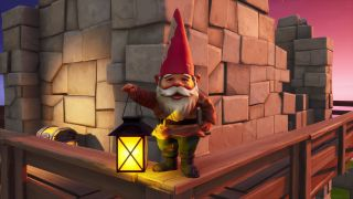 Fortnite Destroy Gnomes at Camp Cod or Fort Crumpet
