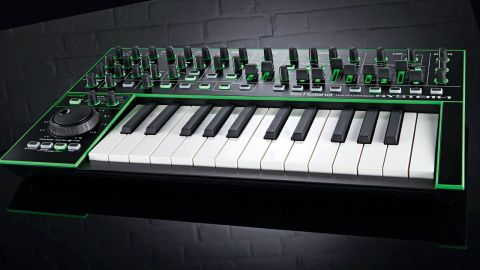 There's no mistaking that the System-1 is an Aira-line product with its familiar tough black plastic case, green trim and backlit buttons