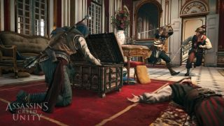 Assassin S Creed Unity Co Op Gameplay Trailer Demonstrates The