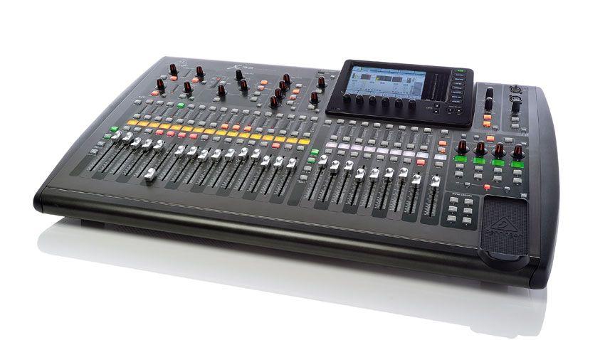 behringer x32 digital mixing console musicradar. Black Bedroom Furniture Sets. Home Design Ideas