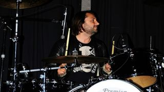 Jon Brookes at the kit