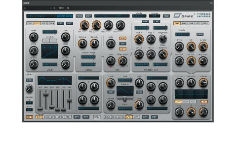 Spire's oscillators are ridiculously powerful, with multiple options for shaping the waveforms