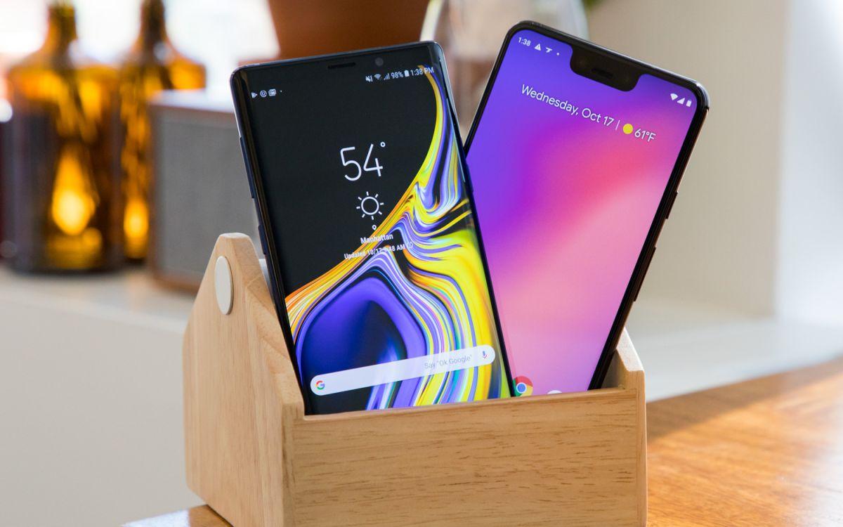 Galaxy Note 9 vs  Pixel 3 XL: Which Big-Screen Phone Wins