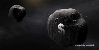Asteroid mining money